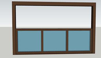 单面型电动提升阳台LHYT01